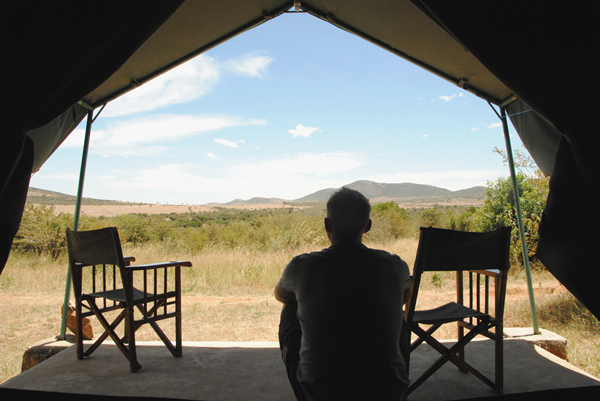 Fisi Camp in the Mara