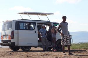 Pop-Up roofed Safari Van