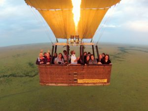 Enjoy a Balloon Ride above the savannah